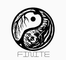 Finite- ying yang city Unisex T-Shirt