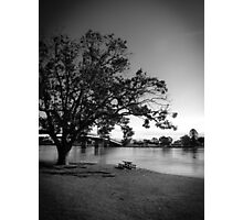 Sitting by the river Photographic Print