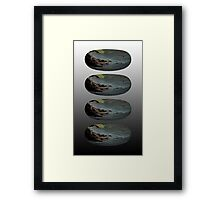 The rings of the Lord Framed Print