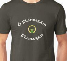 Flanagan Surname - Dark Shirts with Claddagh Unisex T-Shirt