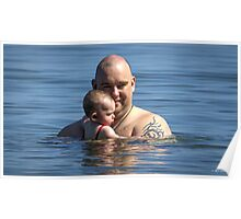 A Lake Ontario Baptism Poster