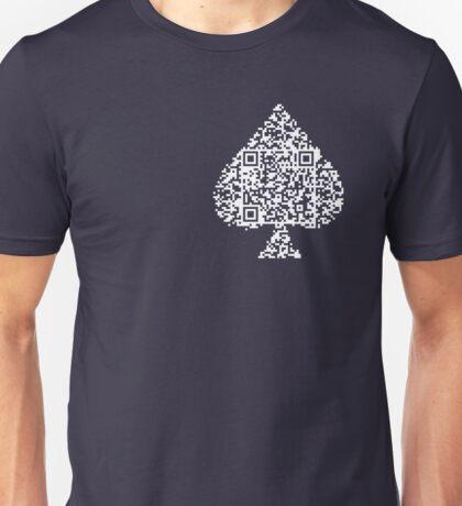 QR Poker Unisex T-Shirt
