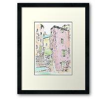 Provence Village Framed Print