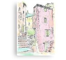 Provence Village Canvas Print