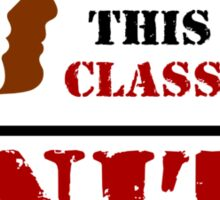 RACE WAR / CLASS WAR - UNITE (light) Sticker