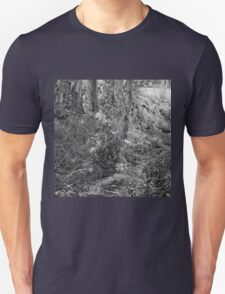 Rainforest stream and trees Unisex T-Shirt