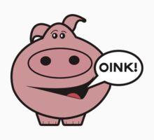 Oink! Pig t-shirt by shamz