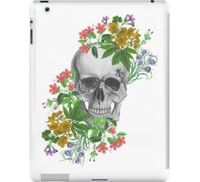 flower skull iPad Case/Skin