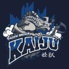 Pacific Breach Kaiju by drawsgood
