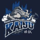Pacific Breach Kaiju by drawsgood