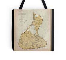 Vintage Print Image of Block Island - 1914 Tote Bag