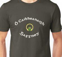Gaffney Surname - Dark Shirts with Claddagh Unisex T-Shirt
