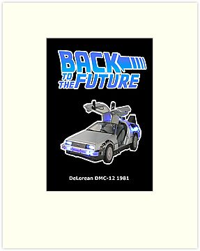 back to the future delorean dmc 12 by benyuenkk