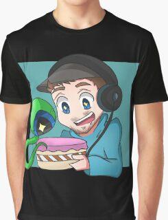 Jacksepticeye - CAKE Graphic T-Shirt