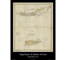 Vintage Virgin Islands Print - 1921 Photographic Print