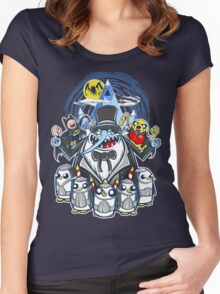 Penguin Time Women's Fitted Scoop T-Shirt