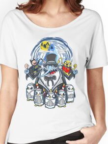 Penguin Time Women's Relaxed Fit T-Shirt