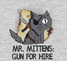 Mr. Mittens: Gun For Hire Kids Clothes
