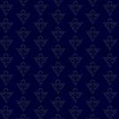 Millennium Puzzle Pattern by AlyOhDesign