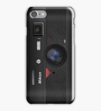 Mikon Camera iPhone Case/Skin