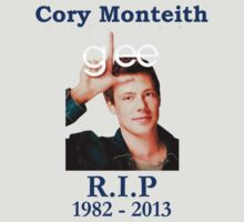 R.I.P Cory Monteith T - Shirts & Hoodies by cerenimo