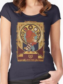 Kart Nouveau Women's Fitted Scoop T-Shirt
