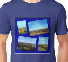Along a Rural Road in the Hebrides Unisex T-Shirt