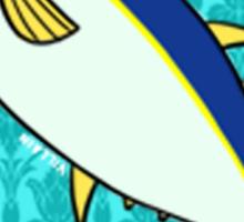 Tunalock flower crown Sticker