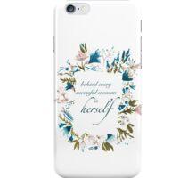 Floral Fem iPhone Case/Skin