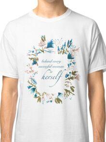 Floral Fem Classic T-Shirt