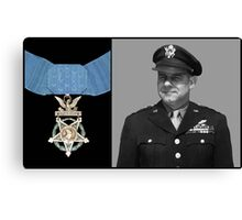 Jimmy Doolittle and The Medal of Honor Canvas Print
