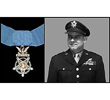 Jimmy Doolittle and The Medal of Honor Photographic Print