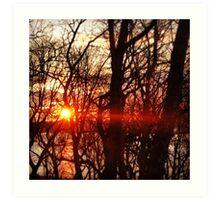 Sun Set Art Print