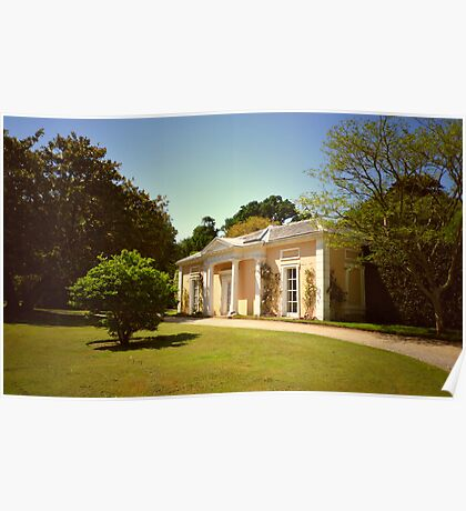 Mount Edgcumbe Formal Gardens - English Garden Poster