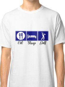 Eat, Sleep, Golf Classic T-Shirt
