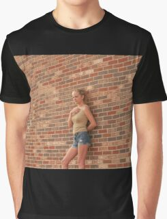 Diary Entry: Summer in a Small Town Graphic T-Shirt