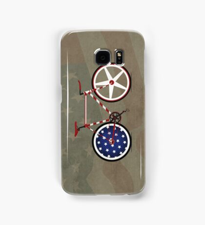 I Love My American  Bike Samsung Galaxy Case/Skin