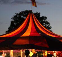 Carnival Tent Sticker
