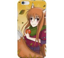 "Horo ""Spice & Wolf"" iPhone Case/Skin"