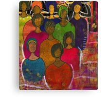 Sweet Angels of The Sisterhood Canvas Print
