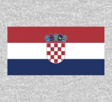 Croatian Flag by cadellin
