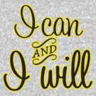 I Can and I Will  by BUB THE ZOMBIE