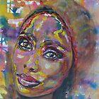 Imany Nadia Mladjao Windows of the Soul  by BAR-ART