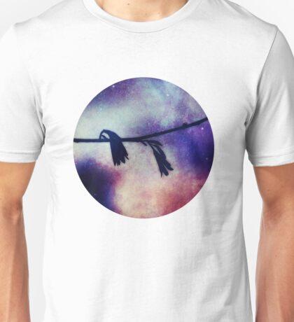 last night i lay awake and listened to the world T-Shirt
