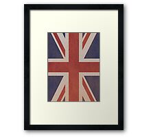 Great Britain Flags Framed Print