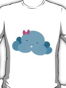 Cute Blue Bucktooth Octopus T-Shirt
