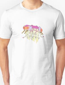 Ancient Psychic Tandem War Elephant Unisex T-Shirt