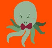 Bowtie Green Octopus Kids Clothes