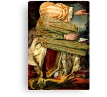The Artists Hand. Canvas Print