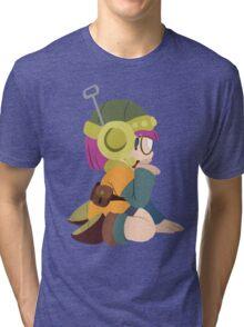 Lucca - Chrono Trigger Tri-blend T-Shirt